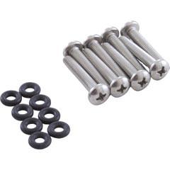 Zodiac Pool Systems Clamp Screws (6), O-Rings (6) - Pool - R0451001