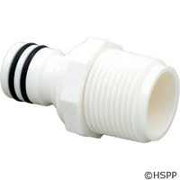 Zodiac/Polaris Quick Disconnect Plug, Nptm, Plastic, With 2 O-Rings - D23