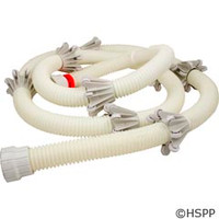 Zodiac/Polaris Sweep Hose Complete, 10 Foot (165/Superturtle) - 6-114-00