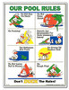 Pool Rules Sign - Duck Animation - 41339