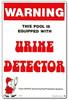 Pool & Spa Sign - Urine Detector  - 41350