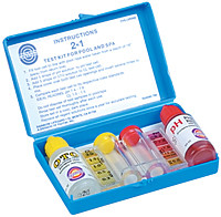 Pool and Spa Test Kit - Tests for Bromine, Chlorine & PH