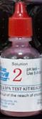Test Kit Liquid Reagent Refill - PH Test - #2 Red