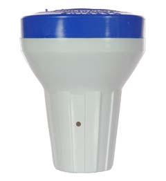 Floating Bromine Dispenser -  Blue/White