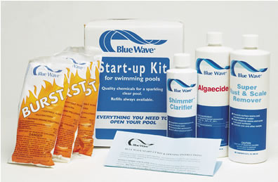 Pool Opening Start-Up Kit - Chlorine