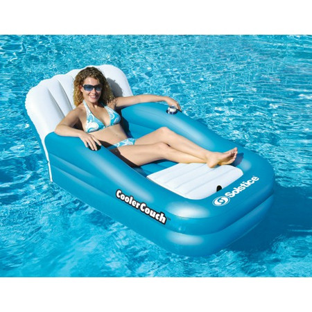 Cooler Couch Pool Lounger