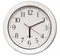 "12"" Outdoor Clock - White"