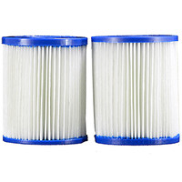 Pleatco  Filter Cartridge - Intex Twin Pack Inch E Inch version  -  PIN3PAIR