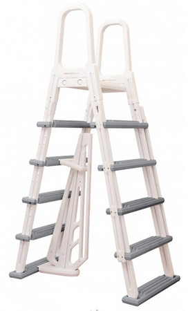 Heavy-Duty Above Ground A-Frame Ladder (NE1202)