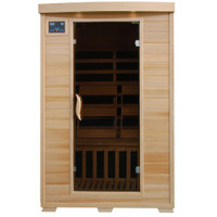 Coronado - 2 Person Deluxe FAR Infrared Sauna With Ceramic Heaters