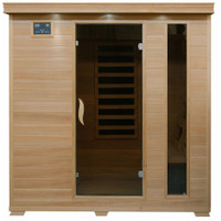 Monticello - Hemlock 4 Person FAR Infrared Sauna With Carbon Heaters