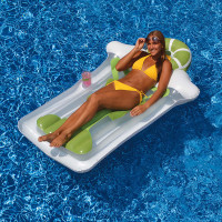Margarita Inflatable Pool Floating Mattress