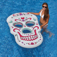 Sugar Skull Inflatable Pool Float