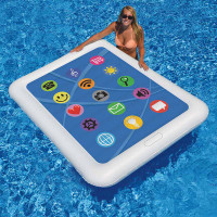 Smart Tablet Inflatable Pool Float