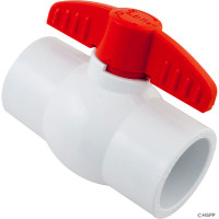 "Ball Valve, Magic Plastics, 1-1/2"" Slip"