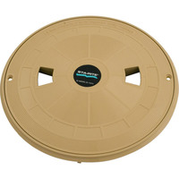 "CLEARANCE - Skimmer Lid Assembly, Pentair Sta-Rite U-3, 10-1/2""od, Tan - 08650-0159"
