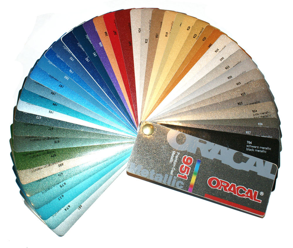 Oracal 951 Premium Cast Metallic 48