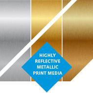 """Kernow MetaliK Inkjet High-Tack Printable Metallic Film 54"""" x 150ft"""