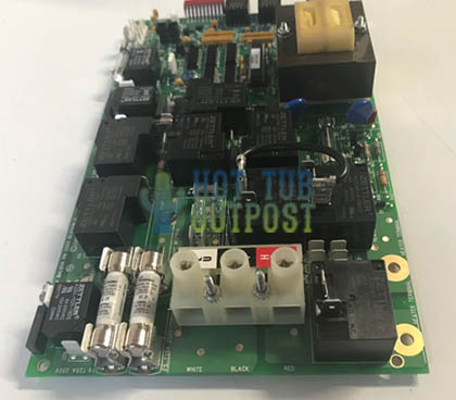 103097 Coleman Spa Circuit Board 2003-2005 Chip 630R1