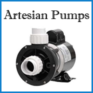 artesian spa pumps