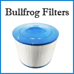 bullfrog spa filters