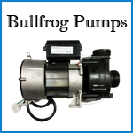 bullfrog spa pumps