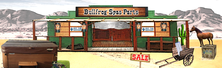 bullfrog spa parts accessories