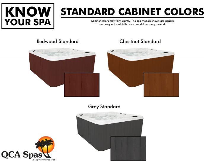 cabinet colors standard