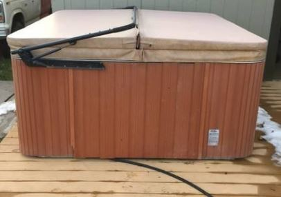 used cal spa hot tub