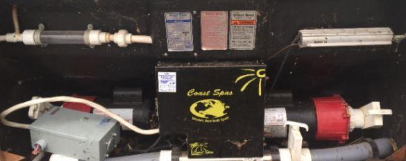 coast spa equipment