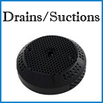 coleman spa drains and suctions
