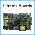 coleman spa circuit-boards