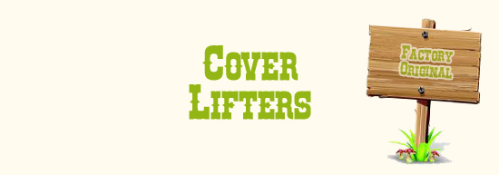 Cover lifters hot tub