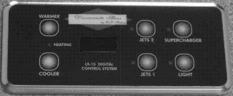 diamante control panel