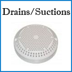 dimension one drains and suctions