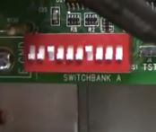 dip switch bank