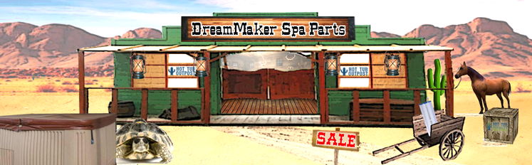 dreammaker spa parts aquarest