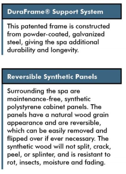 DuraFrame reversible cabinet panels