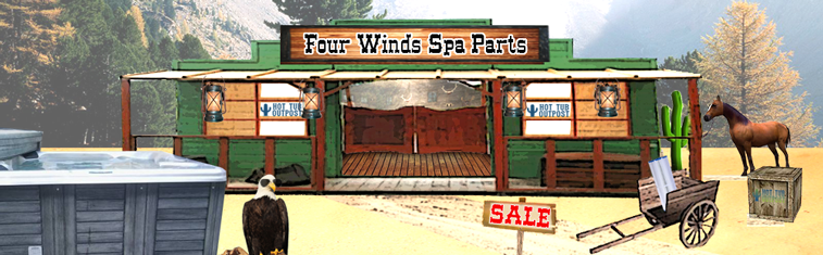 four winds spa parts