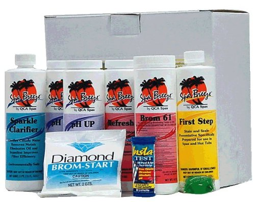 Hot Tub Chemical Kit Set