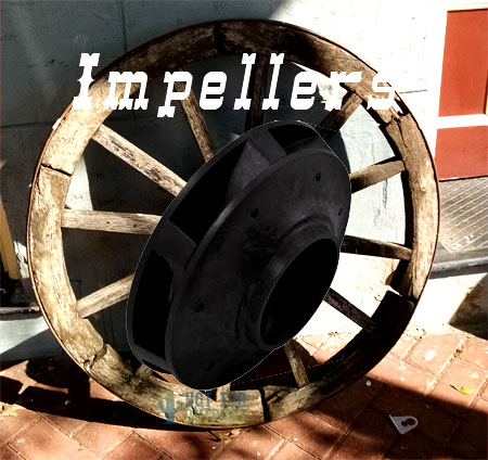 Hot tub pump impellers