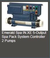 inxe 2pumps Emerald spa controller