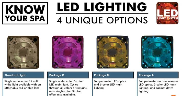 lighting options spa
