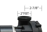 measure open 2 inch plumbing