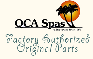 QCA Spas Factory Authorized Spare Parts - Hot Tub Outpost