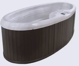Silver Star 2 person hot tub QCA