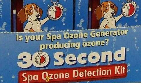 spa ozone detection kit test