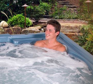 Star Series hot tubs by QCA Spas.