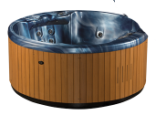 sunlighter hot tub by Great Lakes spas
