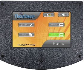 Therasauna Touchview Control